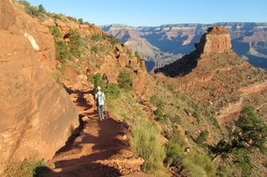 Auf dem South Kaibab Trail im Grand Canyon