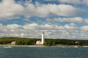 Cove Island Light, Lake Huron